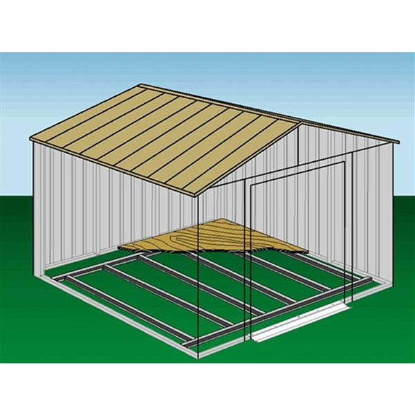 Arrow Shed Floor Frame Kit for sizes 10' x 11' to 10' x 14'