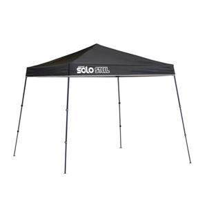 Quik Shade Solo Steel® Slant Leg Canopy - 9' x 9' - Black