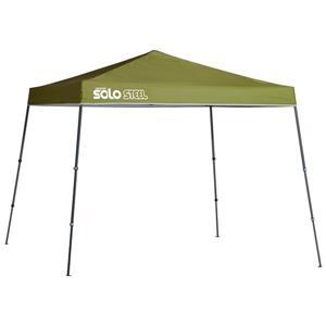 Quik Shade Solo Steel® Slant Leg Canopy - 11' x 11' - Olive