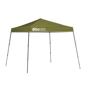 Quik Shade Solo Steel® Slant Leg Canopy - 9' x 9' - Olive