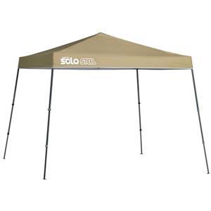 Quik Shade Solo Steel® Slant Leg Canopy - 11' x 11' - Khaki