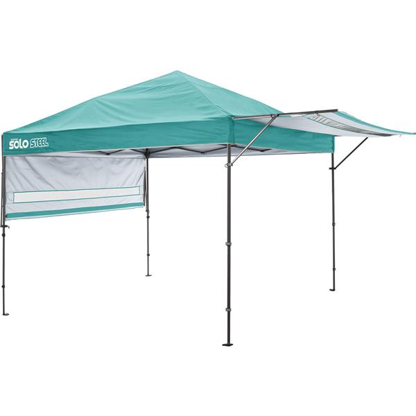 Quik Shade Solo Steel® Straight Leg Canopy - 10 'x 17' - Turquoise