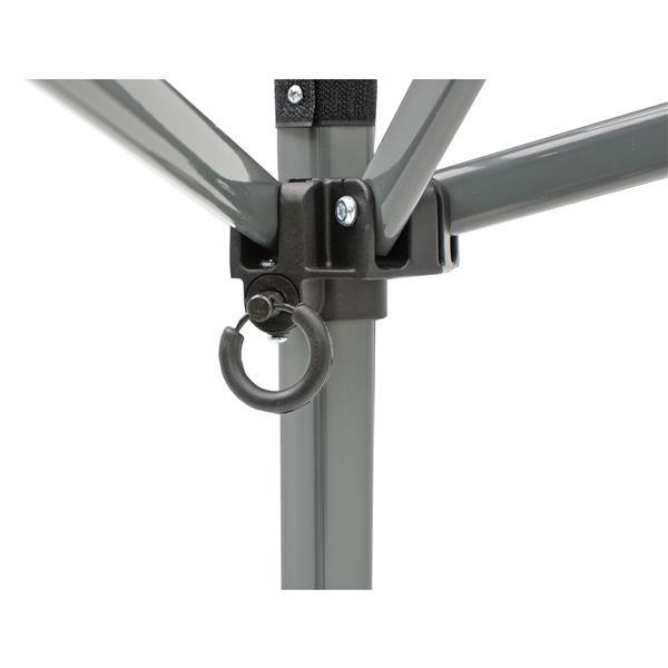 Quik Shade Solo Steel® Slant Leg Canopy - 9' x 9' - Khaki