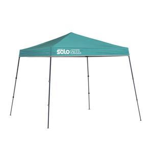 Quik Shade Solo Steel® Slant Leg Canopy - 9' x 9' -Turquoise