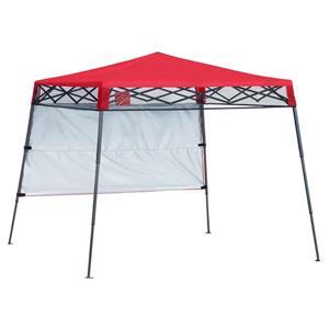 Quik Shade Go Hybrid® Slant Leg Canopy - 7' x 7' - Red