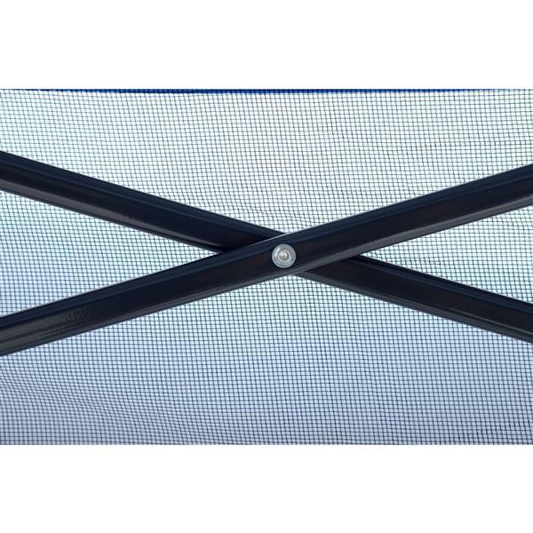 Quik Shade Go Hybrid® Slant Leg Canopy - 7' x 7' - Charcoal