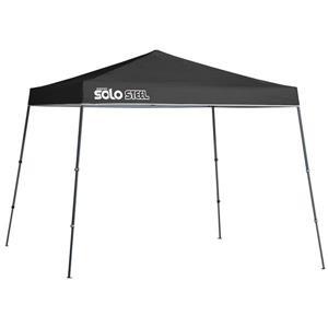 Quik Shade Solo Steel® Slant Leg Canopy - 11' x 11' - Black