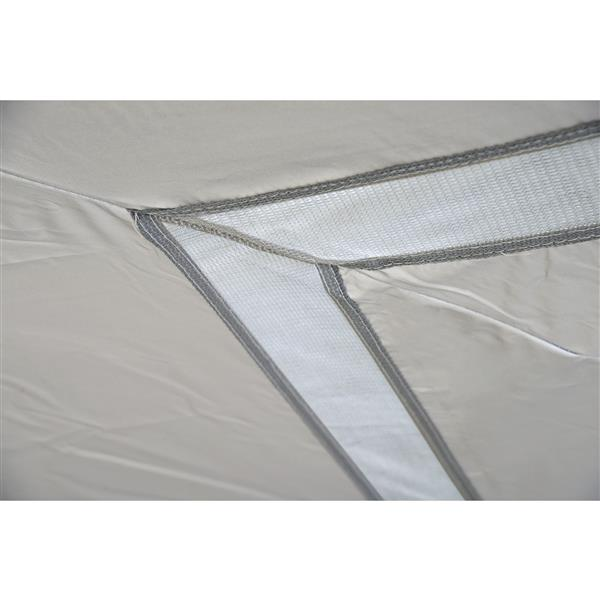 Quik Shade Commercial® Straight Leg Canopy -17' x 17'