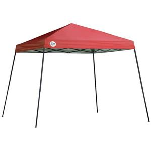 Quik Shade Slant Leg Canopy - 10' X 10' -  Red