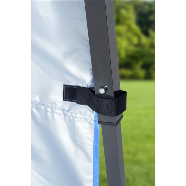 Quik Shade Go Hybrid® Slant Leg Canopy - 7' x 7' - Green