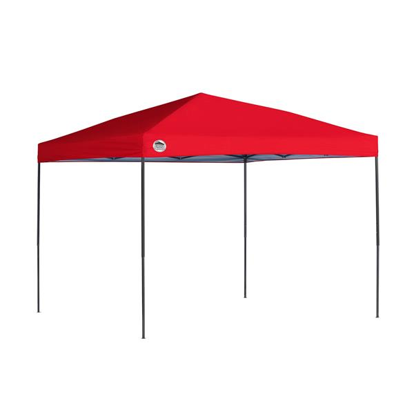 Quik Shade Straight Leg Canopy - 10' x 10' - Red