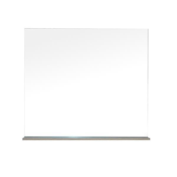 Lukx Modo David Bathroom Mirror with Shelf - 32-in - Urban