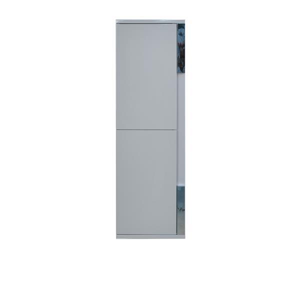 Lukx Modo David Bathroom Linen Cabinet - 14-in - Grey