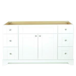 Lukx Bold Damian Vanity Cabinet - 54-in - White