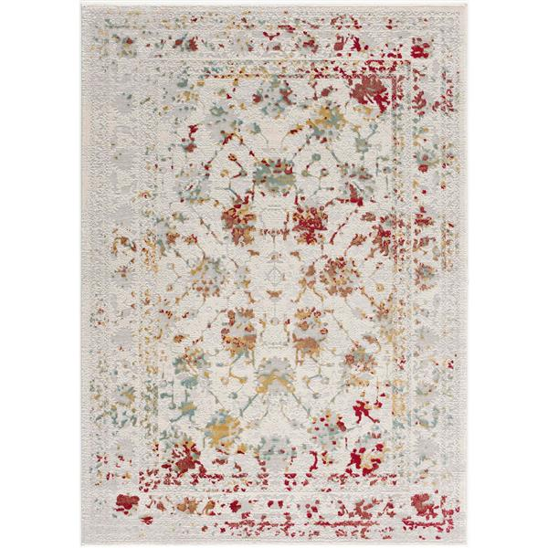 Rug Branch  Vogue Modern Rug - 3-ft 9-in x 5-ft 6-in - Multicolored