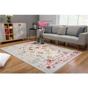 Rug Branch  Vogue Modern Rug - 5-ft 3-in x 7-ft 7-in - Multicolored
