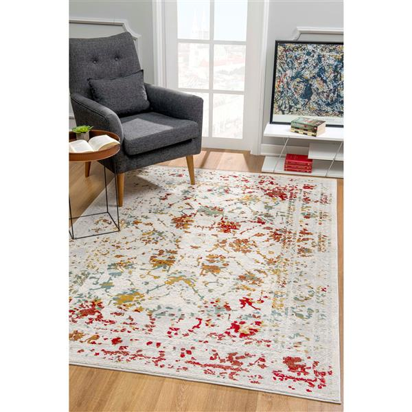 Rug Branch  Vogue Modern Rug - 2-ft 8-in x 4-ft 8-in - Multicolored