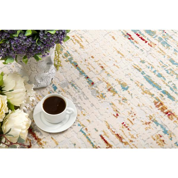 Rug Branch  Vogue Modern Area Rug - 2-ft 8-in x 4-ft 8-in - Multicolored