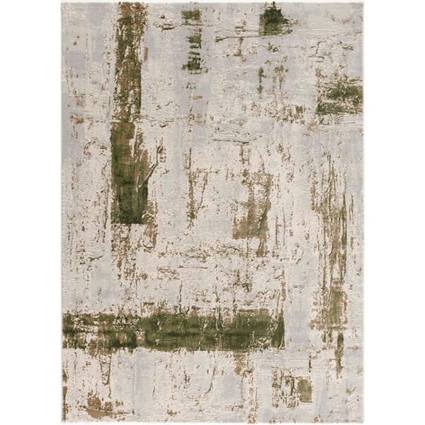 Rug Branch  Vogue Modern Area Rug - 2-ft 8-in x 4-ft 8-in - Green