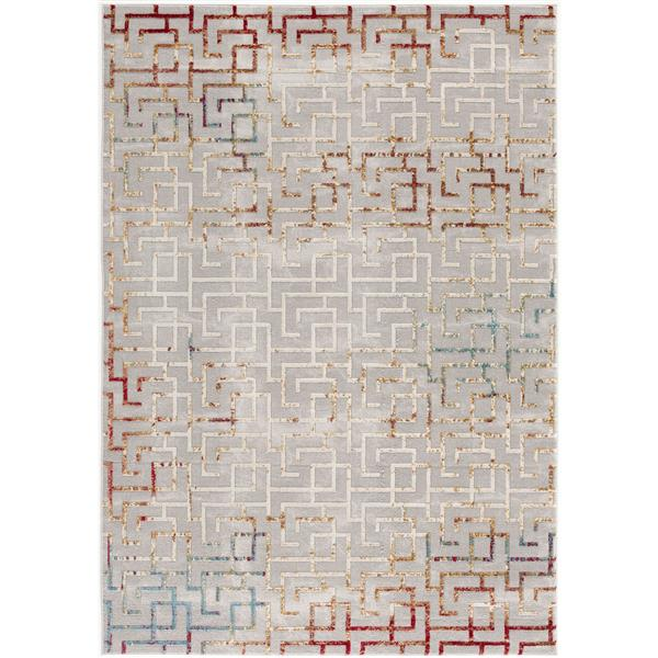 Rug Branch  Vogue Staircase Runner - 2-ft 2-in x 65-ft  - Multicolored