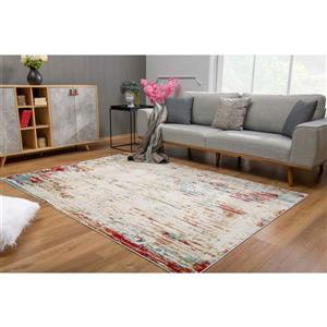 "Sun Shine Rug Tapis de passage Vogue de , 2'2"" x10', multicolore"