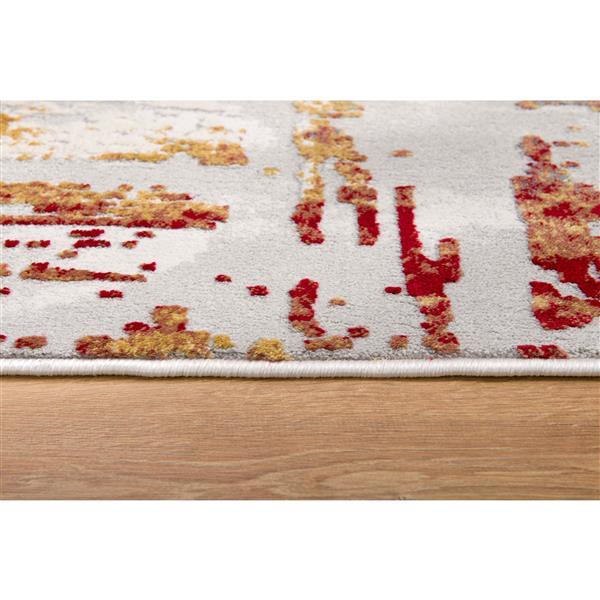 Tapis de passage Vogue de Rug Branch , 2 pi 2 po x 20 pi , multicolore