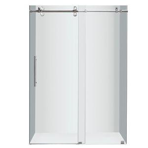 Turin Horizon Shower Door (10 mm) 48-in - Chrome