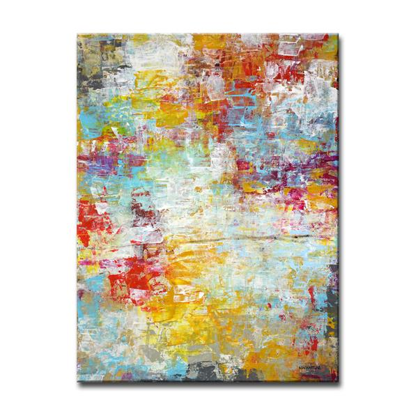 Ready2HangArt Wall Art -Timeless Canvas 30-in x 20-in - Colourful