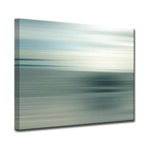 Ready2HangArt Wall Art Blur Stripes Canvas 20-in x 30-in - Gray
