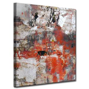 Ready2HangArt Wall Art Abstract Art Canvas 30-in x 20-in - Blue