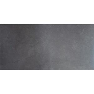 Mono Serra Group Porcelain Tile Orion Anthracite  - 12-in x 24-in  (6.68 pi2 / case)