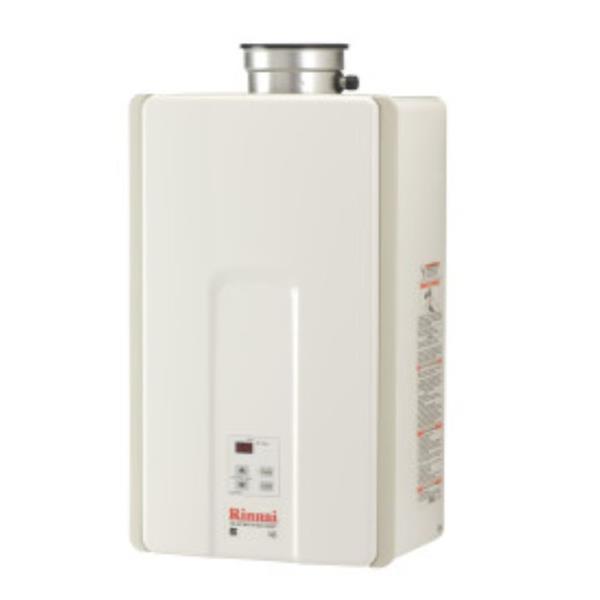 Rinnai Natural Gas Tankless Water Heater - 6.5 GPM/150k BTUs
