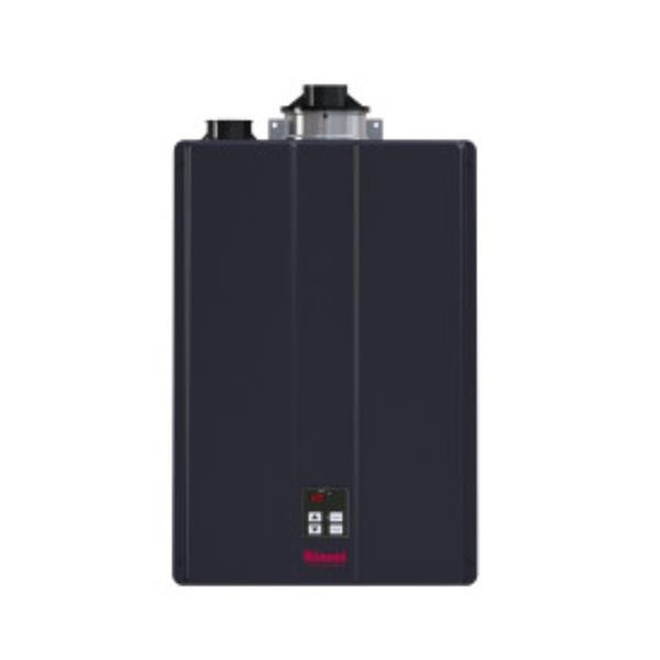 Rinnai Natural Gas Tankless Water Heater - 9.8 GPM -199 BTUs