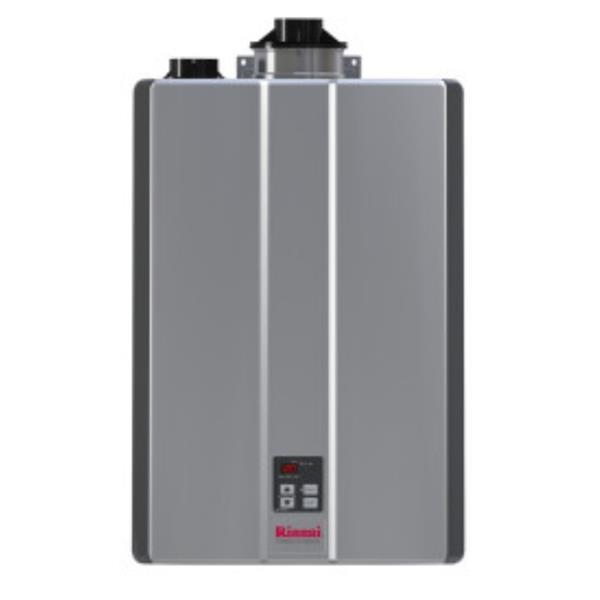 Rinnai Chauffe-eau sans réservoir au gaz naturel, 9 GPM/160k BTU