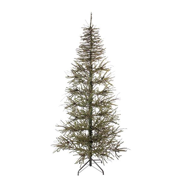 Northlight Warsaw Twig Artificial Christmas Tree - 6' - Unlit - Brown/Green