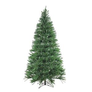 Santa's Own Artificial Christmas Tree - Alexandria Pine - 7.5' - Unlit - Green