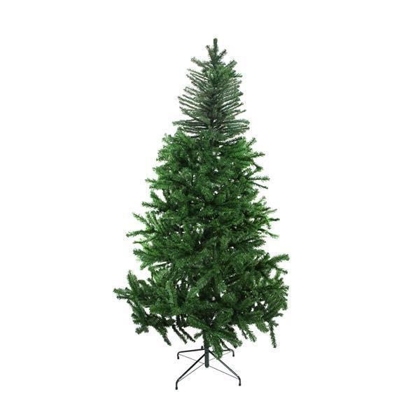 Darice Artificial Christmas Tree - 2-Tone Balsam Fir - 7.5' - Unlit - Green