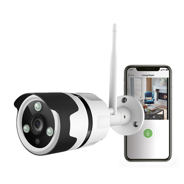 Westinghouse Patrol Cam Outdoor Wi-Fi Security Camera - 1080P Full HD - 8x digital zoom