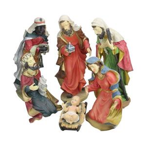 Northlight Holy Family Christmas Nativity Statues - 6-Piece Set - 19""
