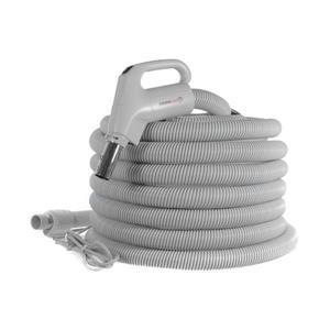 Drainvac 110/24V central vacuum hose - 35-feet
