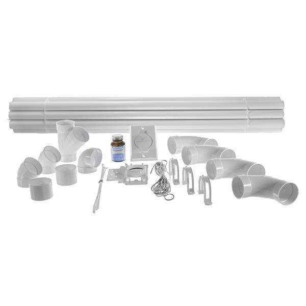 Drainvac Central Vacuum Piping Installation Kit