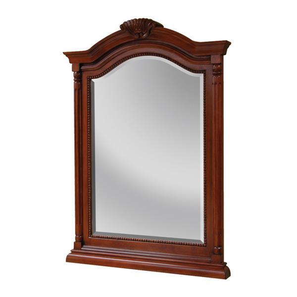 Miroir Wingate de Foremost, couleur cerise, 26 po x 36 po