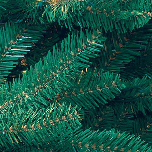 Dunhill® Fir Christmas Tree with Clear Lights - 7.5-ft - Blue