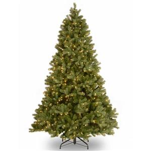 National Tree Co. Downswept Douglas Fir Tree with Clear Lights - 6.5-ft - Green