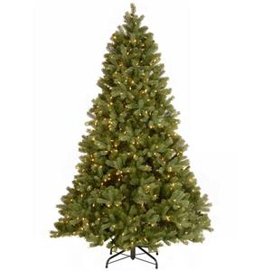 National Tree Co. Downswept Douglas Fir Tree with LED Lights - 7.5-ft - Green