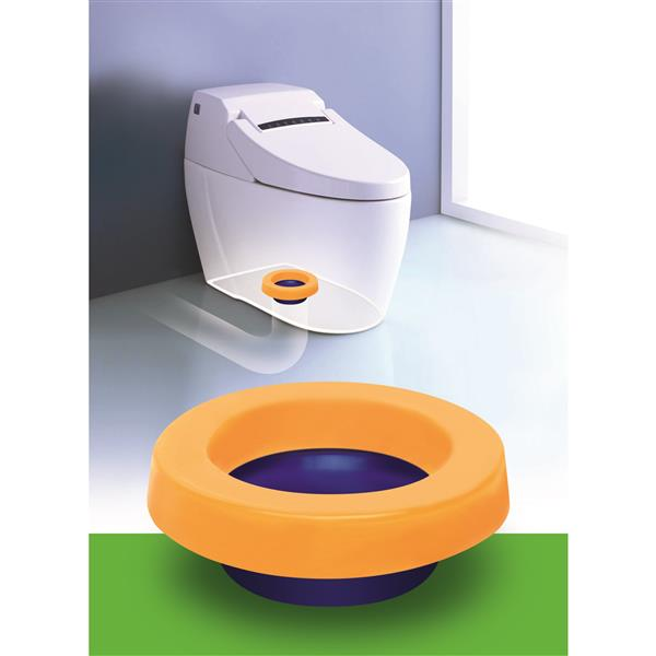 Spacio Innovations Inc. Elastic Toilet Gasket Wax-Free withToilet Bolts