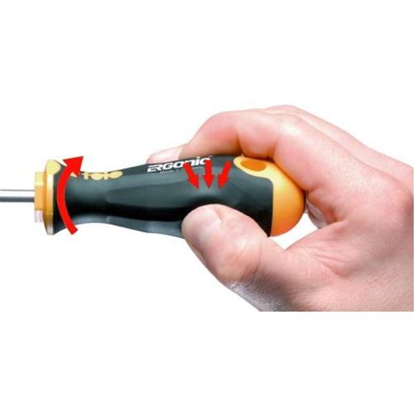 Spacio Innovations Inc. Felo Flexible Nut Driver Handle - 1/4-in