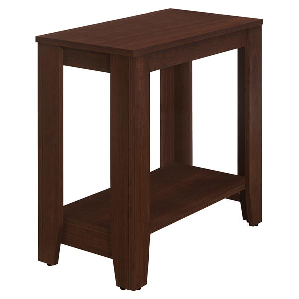Monarch Accent Table - Cherry - 18-in x 23,75-in