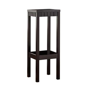Monarch Cappuccino Accent Table - 32-in