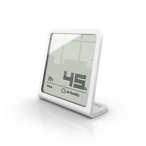 Stadler Form Selina Hygrometer - 3.66-in x 3.54-in - White